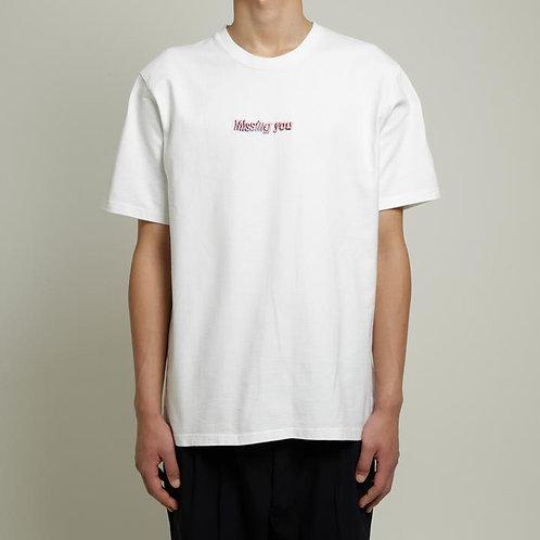 Dilemma Missing You Tshirt - White