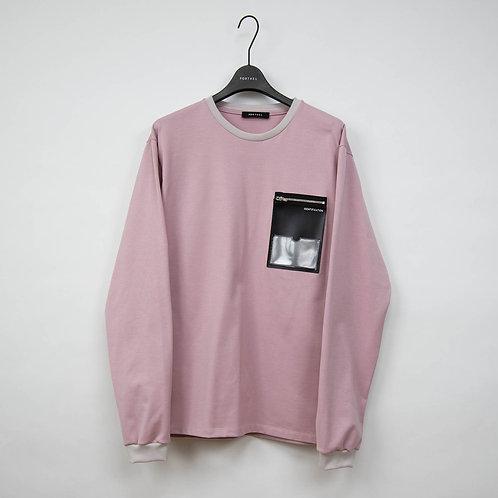PORTVEL ID POCKET L/S TEE-Pink