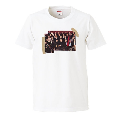 "YABIKU HENRIQUE YUDI  ""The team"" COLLAGE T-shirt"
