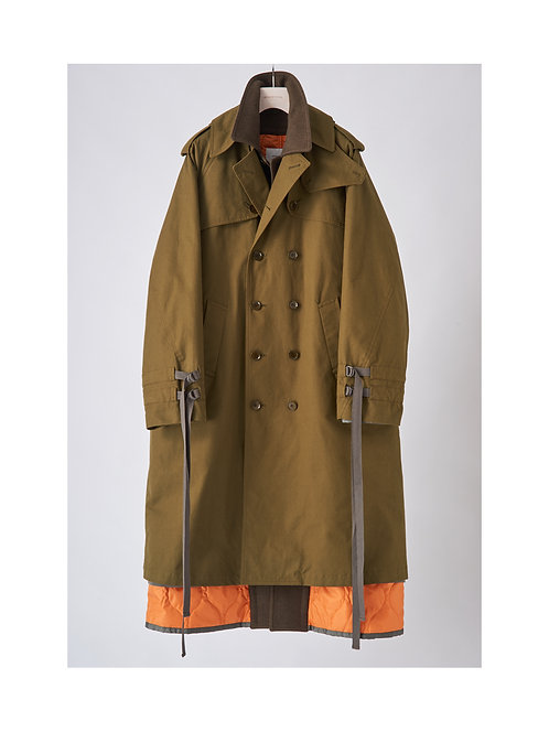 APOCRYPHA.  3Way Trench Coat