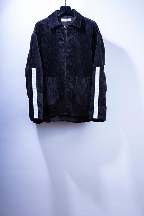 prasthana passive cord P/O jacket - Black