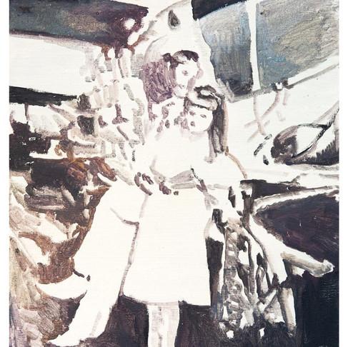 マイノリティや様々な境遇をもつ人物をモチーフに絵画を制作『BAROQUE』韓国出身の油絵アーティストBaek HyoWeonが渋谷のALで開催