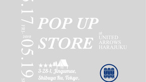ユナイテッドアローズ原宿本店 「束矢商店」にNOUVERTEmagazineのポップアップストアが初登場。