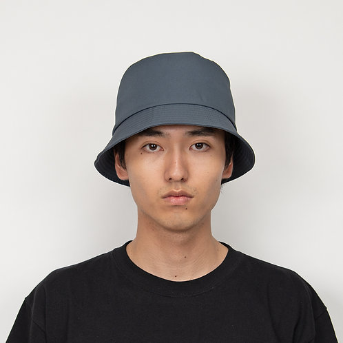 PORTVEL BUCKET HAT (POLYESTER TWILL) - FoggyBlue