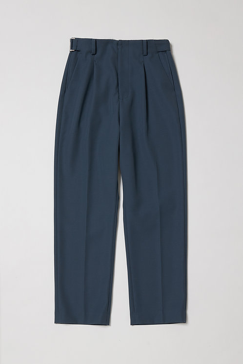 a-l 1 tuck belted trousers