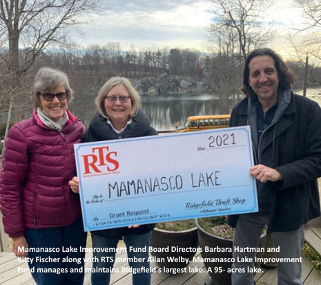 RTS Grant 2021 Mamanasco Lake Improvemen