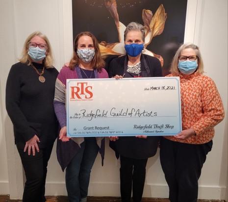 RTS Grant 2021 Ridgefield Guild of Artis