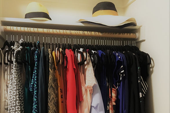 Organizing in the Closet with Tidy Solutions Portland