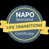 """NAPO Zertifizierung """"Life Transitions"""""""