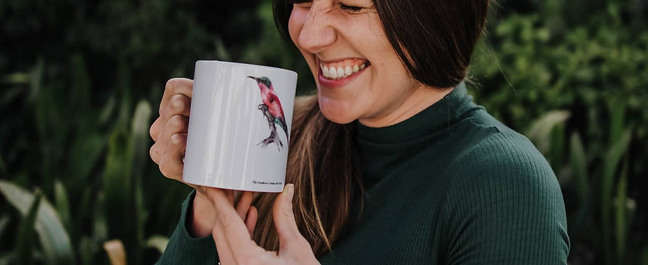 Bird Mugs (Set of 4)