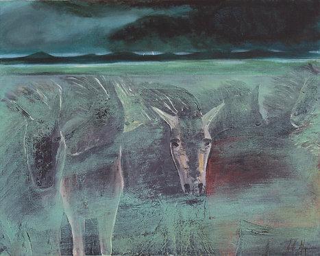 Ghost Ponies by Noelle Almond