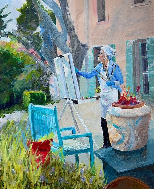 Plein Air Painter by Barbara Hopkins