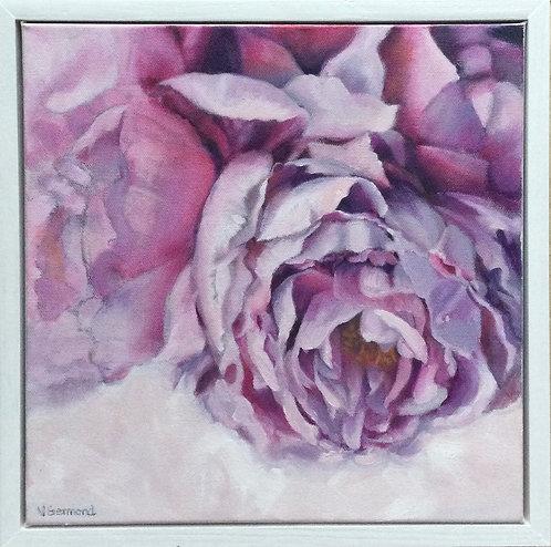 Mauve Peony by Victoria Germond