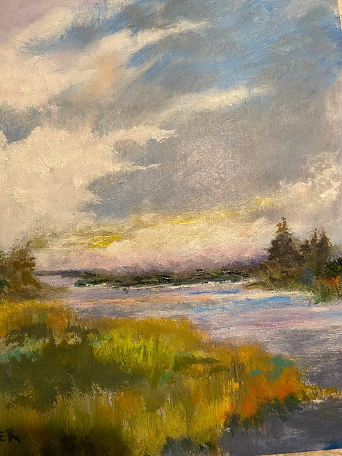 Storm Moving On by Lois Grunder