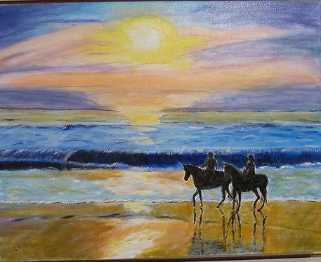 Dawn Riders by Gary Rubin