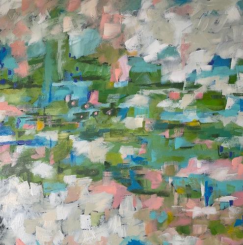 Green Pasture by Trish Jones