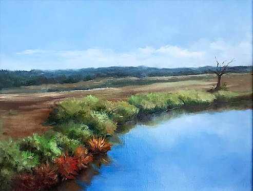 Egans Creek View by Rebecca McDannold