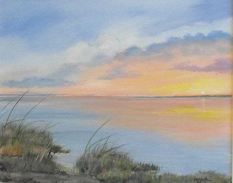 Pink Sunrise by Ed Mosher