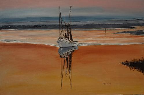 Sunset Shrimper by Ned Flemming
