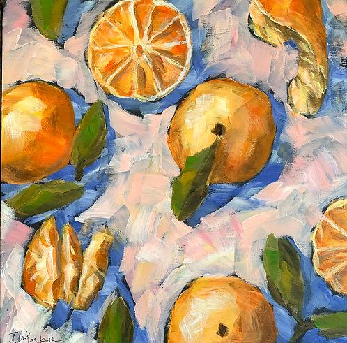 Just Peachy Oranges by Trish Jones