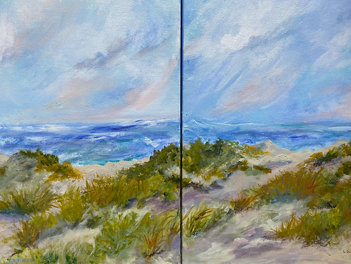 Wind and Shadows 1 & 2 by Lois Grunder