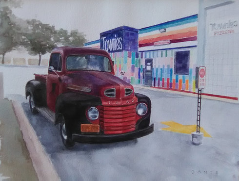 Townies '49 Ford Pick-up by Dante DeFlorio