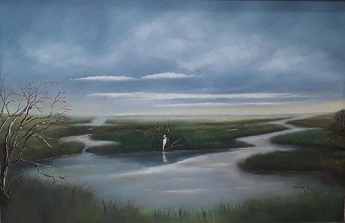 Marsh View by Gary Johns