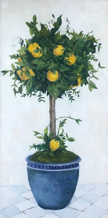Lemon Topiary I by Victoria Germond