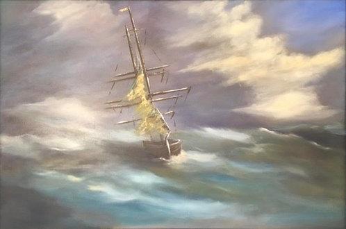 Ghost Ship by Ginger Bender