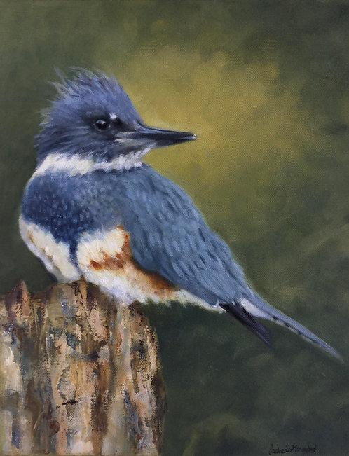 Kingfisher II by Victoria Germond