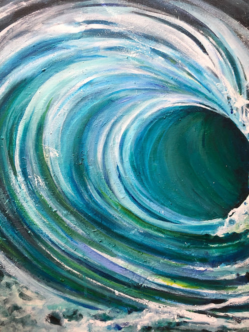 The Wave by Marlene Strobach