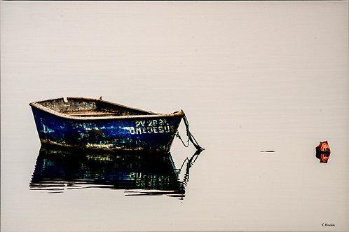 Caminha Boat by Karen Bowden