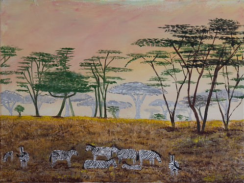 Serengeti Peace by Noelle Almond