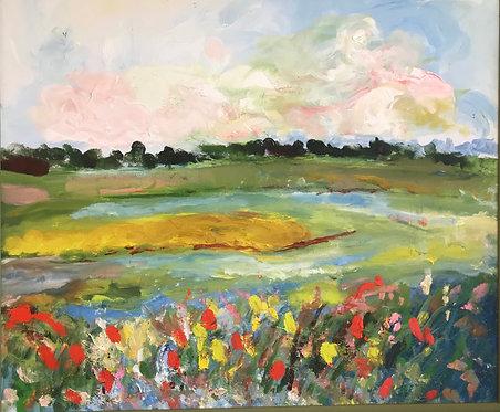 Flowers on the Marsh by Janet McGugan