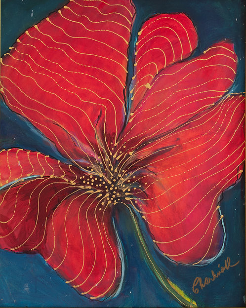 Not a Hibiscus by Charli Leniston