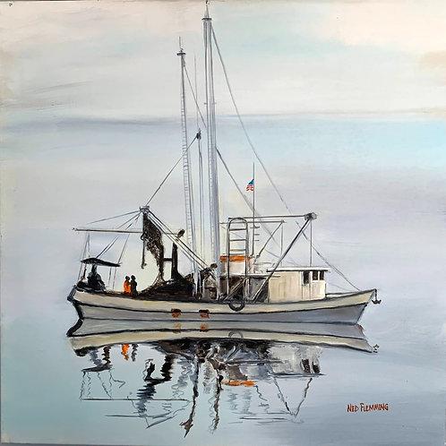 Fernandina Shrimper by Ned Flemming