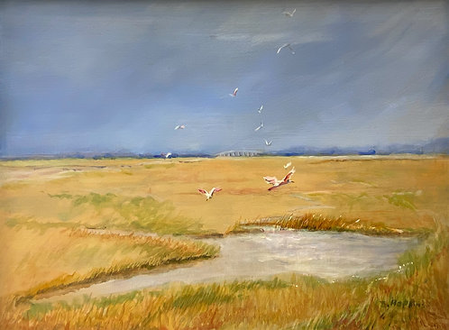 Peaceful Marsh by Barbara Hopkins