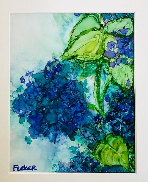 Hydrangea Bush by Sherry Ferber