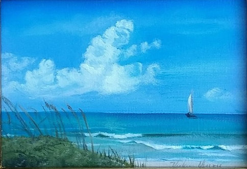 Sailing Away by Vickie Maley