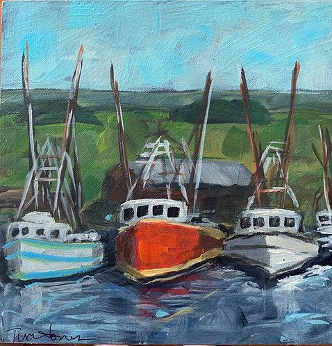 Trish Jones - Shrimp Boats
