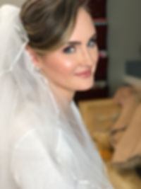 glamorous bridal makeup in south street/ headhouse district of philadelphia