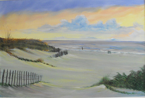 Walking the Beach by Ed Mosher
