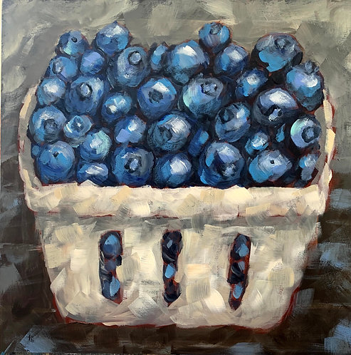 Market Berries by Trish Jones
