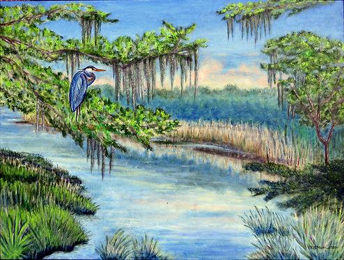 Marsh Morning by Dick Hamilton