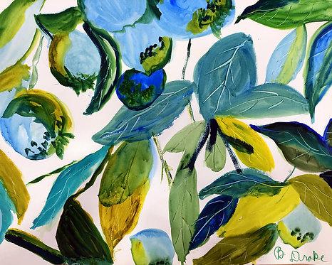 Blueberries by Betsy Drake Hamilton