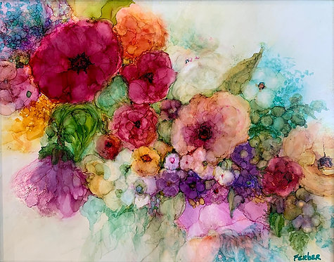 The Romance of Flowers by Sherry Ferber