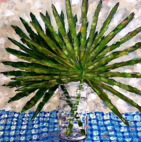 Fronds in a Vase by Trish Jones