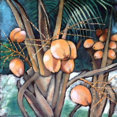 Bahama Palms by Susan Hitchcock