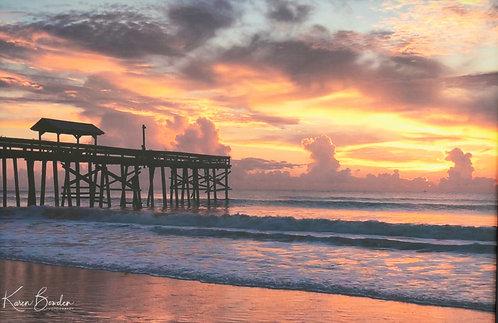 Sunrise Storms by Karen Bowden