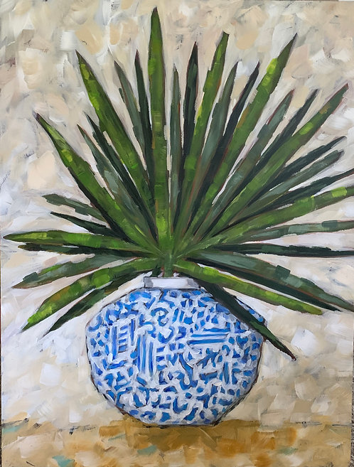 Palmyra the Palmetto Frond  by Trish Jones